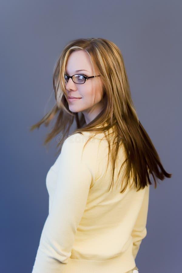 Frauendrehen lizenzfreie stockfotos