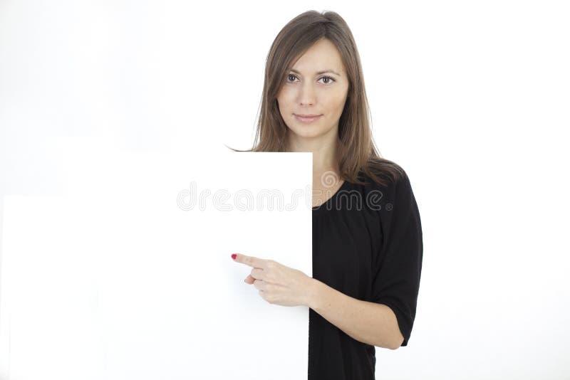 Frauenfahne fügen hinzu stockfotos