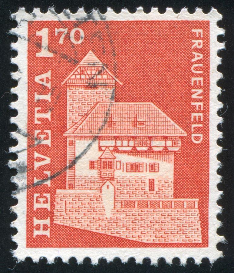 Frauenfeld slott royaltyfri bild