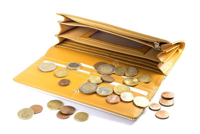 Frauengeldbörse stockfotografie