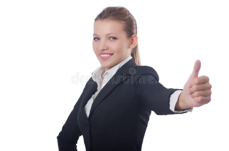 Frauengeschäftsfrau lizenzfreie stockfotografie