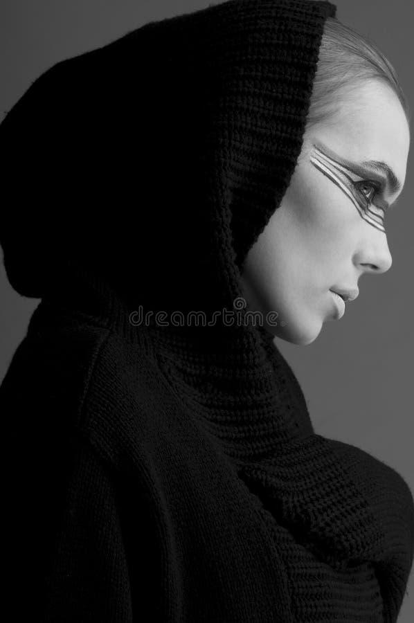 Frauengesicht stockfotografie