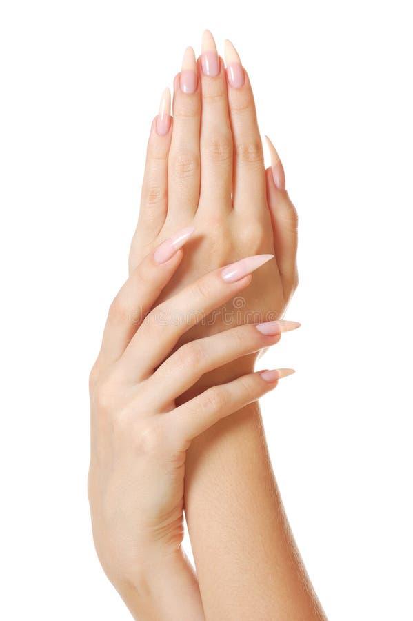 Frauenhände lizenzfreie stockbilder