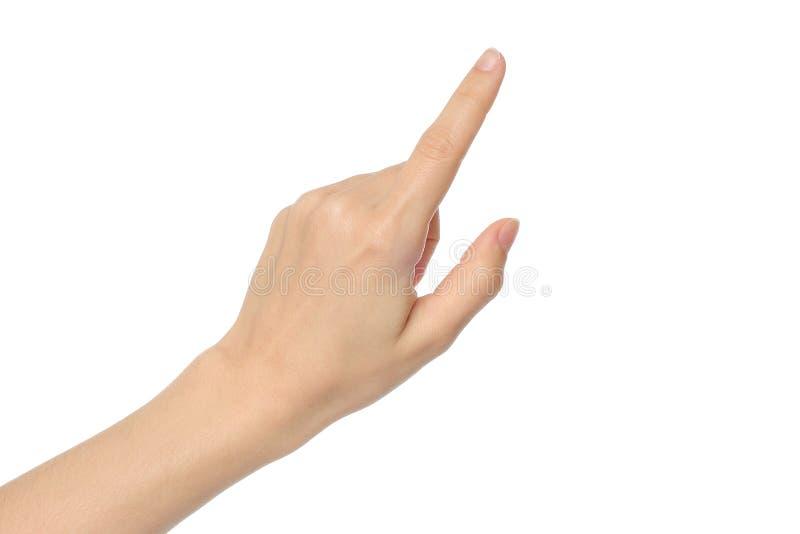 Frauenhand lizenzfreies stockfoto