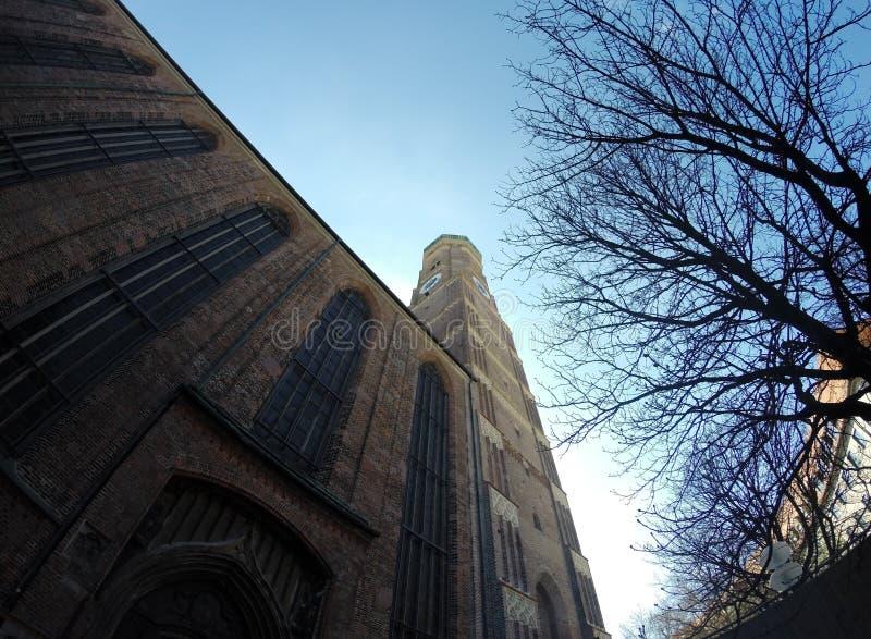 frauenkirche慕尼黑 库存照片