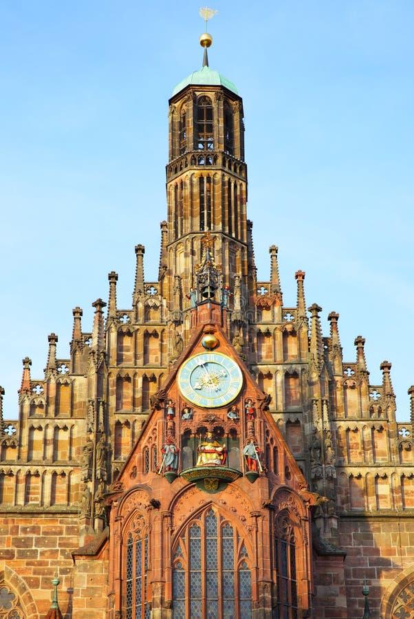 Frauenkirche в Нюрнберг стоковое фото rf
