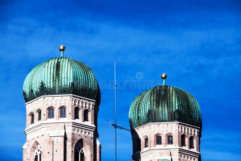 frauenkirche Германия munich стоковое фото