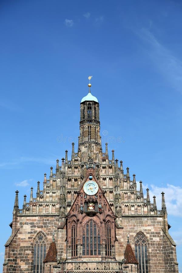 Frauenkirche, Нюрнберг стоковая фотография