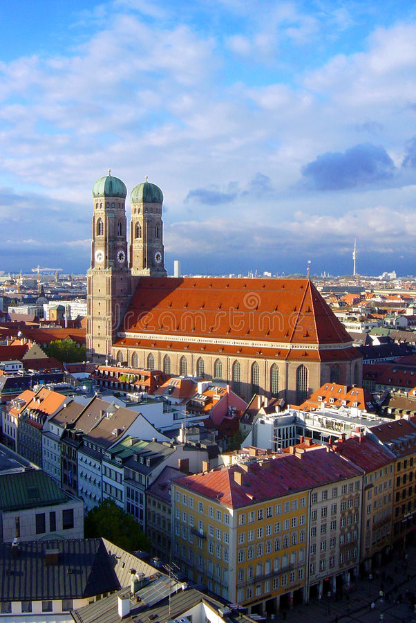 frauenkirche fotografia stock