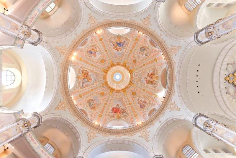 Frauenkirche fotografie stock libere da diritti