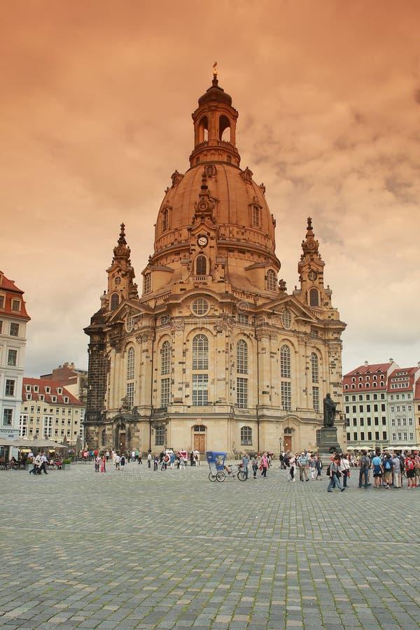 Frauenkirche zdjęcia royalty free