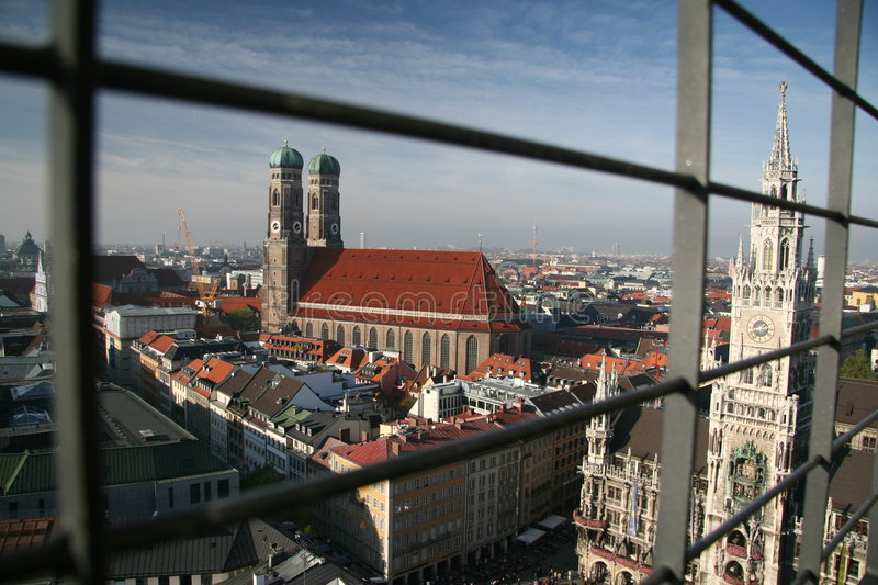 Download Frauenkirche Dome And Town Hall Munich Stock Photo - Image: 7238354