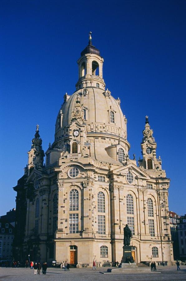 Frauenkirche Dresde photo libre de droits
