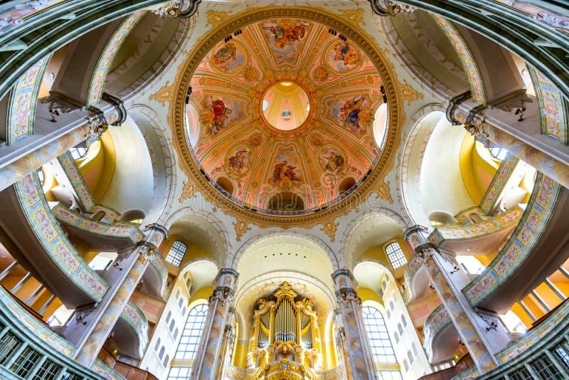 Frauenkirche, Dresden, Alemanha imagem de stock royalty free