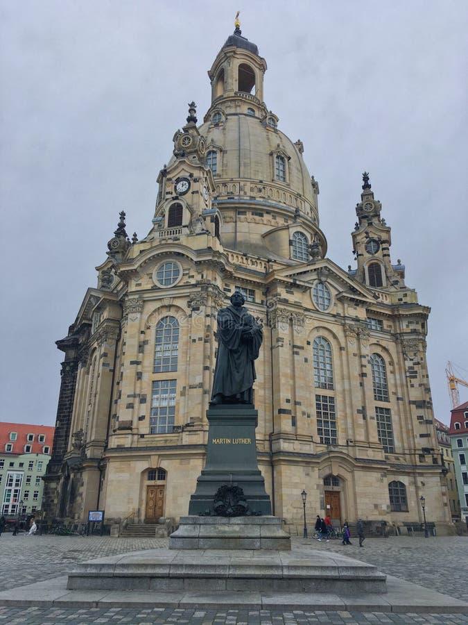Frauenkirche stock afbeelding