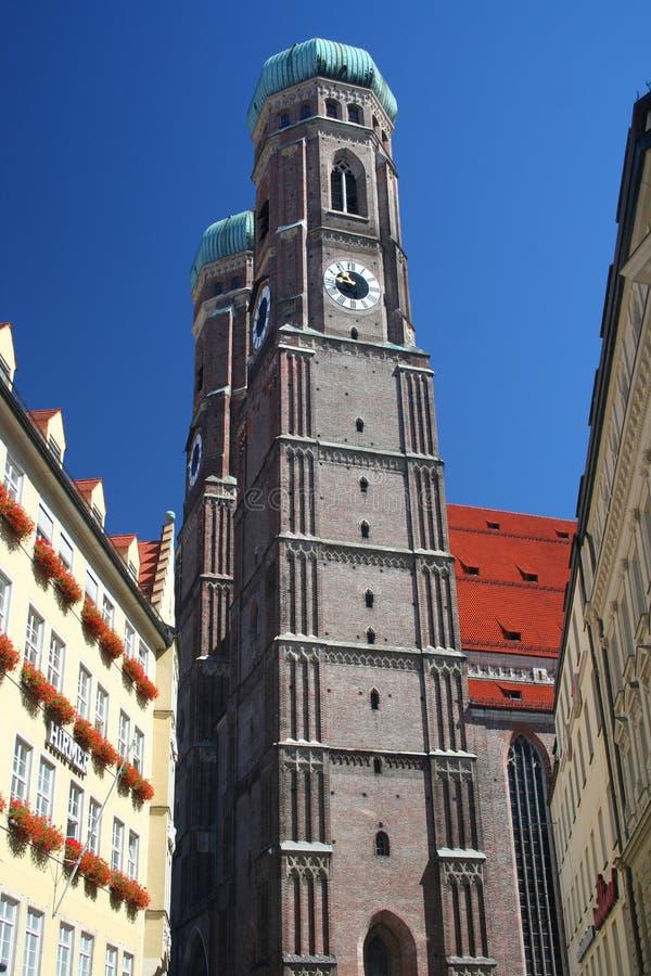 Frauenkirche en Munich imagen de archivo