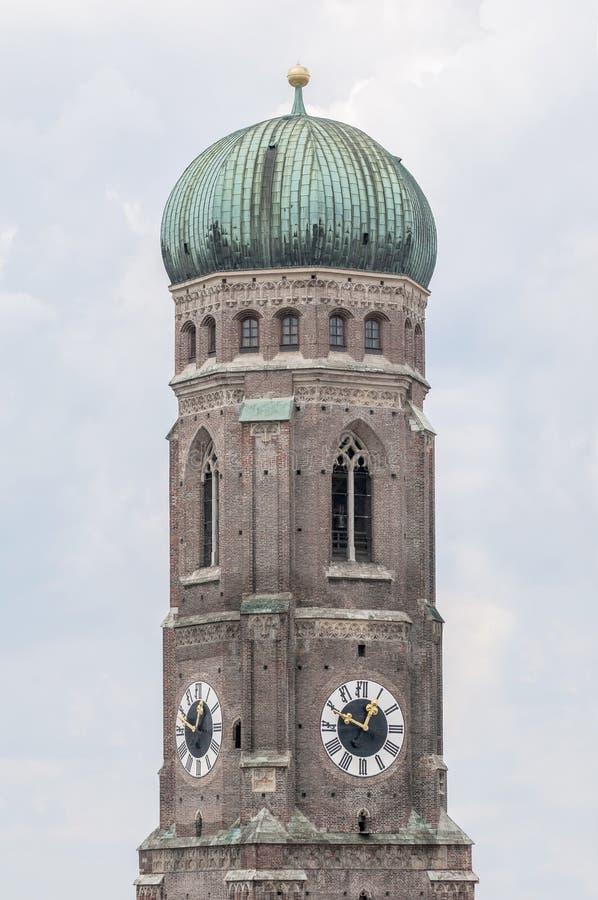Frauenkirche katedra Monachium, Niemcy obraz stock