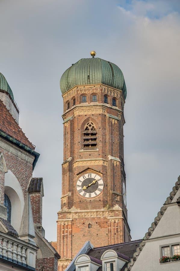 Frauenkirche Monachium katedra, Niemcy zdjęcie stock