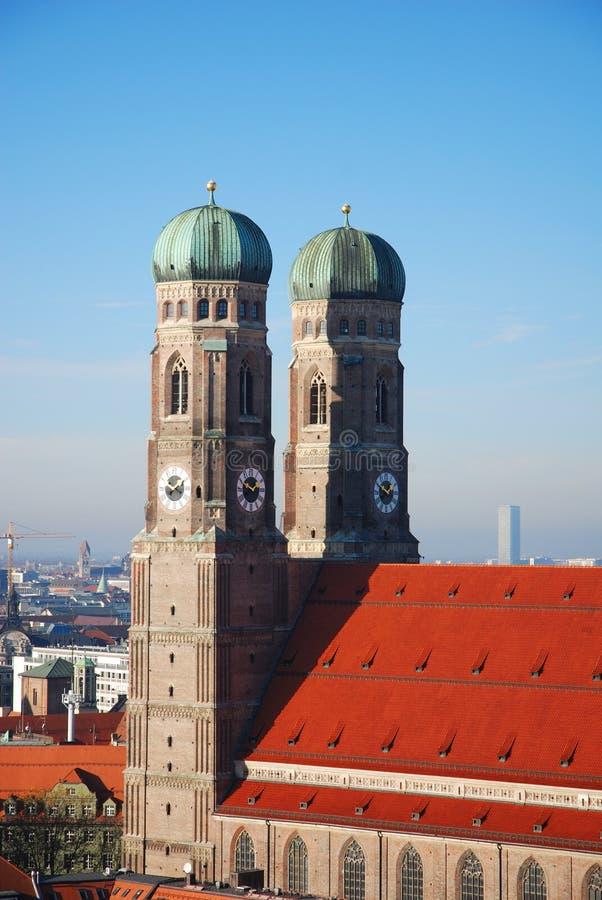 Frauenkirche Munich imagem de stock royalty free