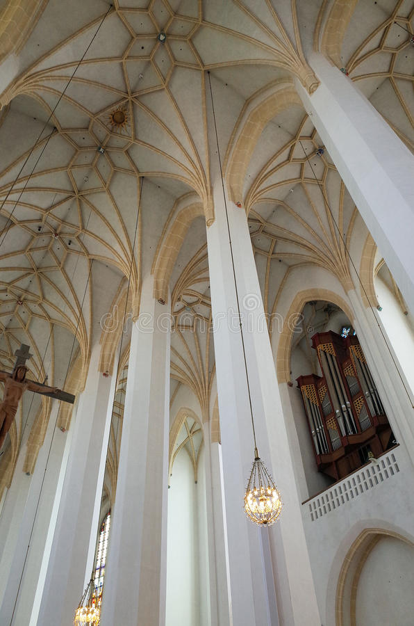 Frauenkirche in Munich, Germany stock photography