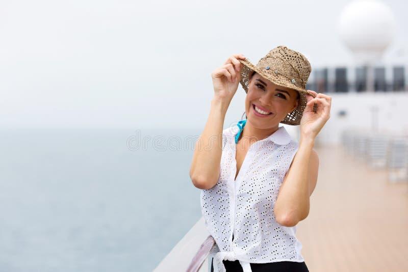Frauenkreuzschiff stockfoto