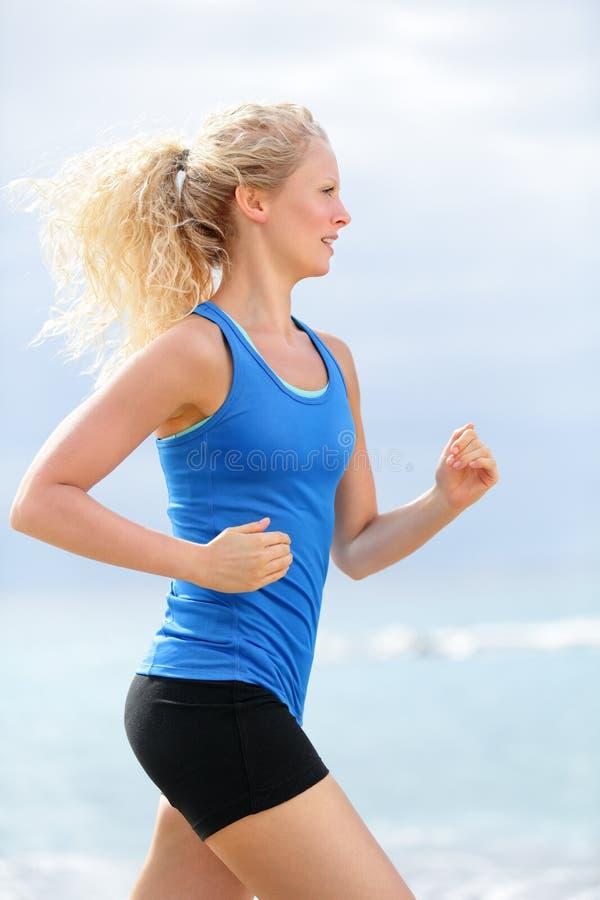 Frauenläufer lizenzfreie stockbilder