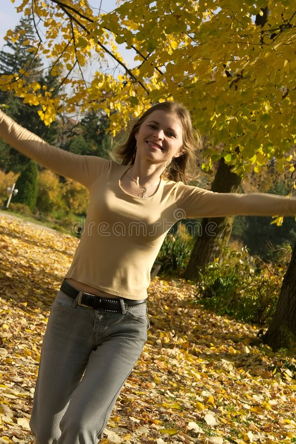 Frauenlaufen stockfoto