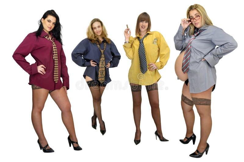 Frauenleistung stockbilder
