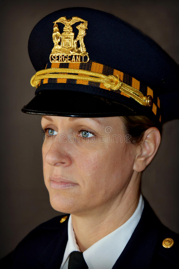 Frauenpolizeibeamte stockfotos
