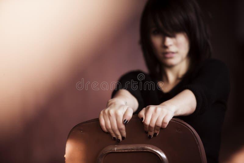 Frauenporträt lizenzfreie stockfotografie