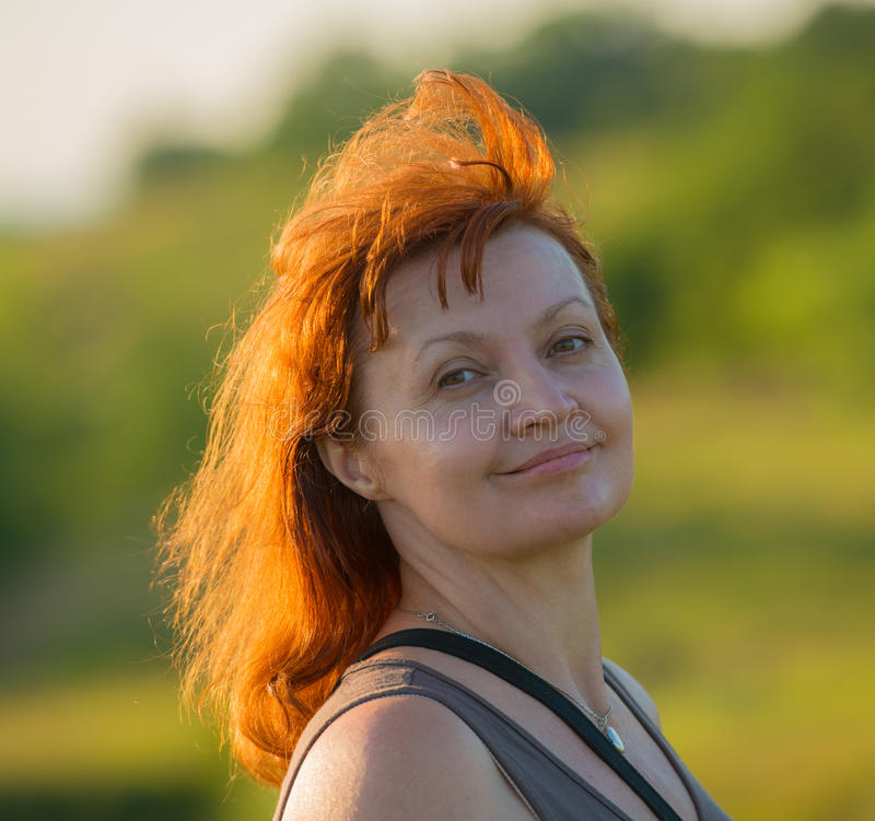 Frauenporträt stockfotografie