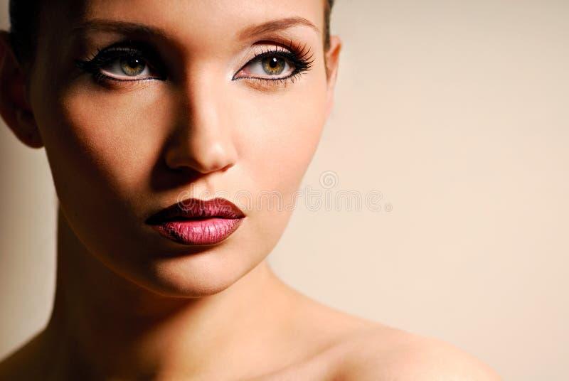 Frauenportrait. lizenzfreie stockfotos