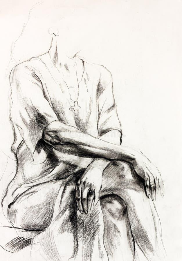 Download Frauenportrait stock abbildung. Illustration von auslegung - 27729549