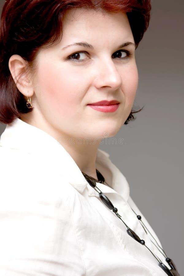 Frauenportrait lizenzfreie stockbilder
