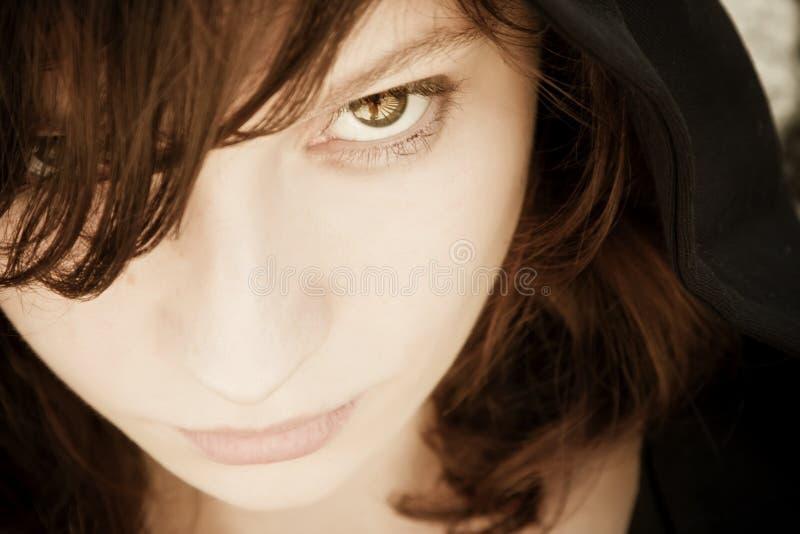 Frauenportrait lizenzfreie stockfotografie