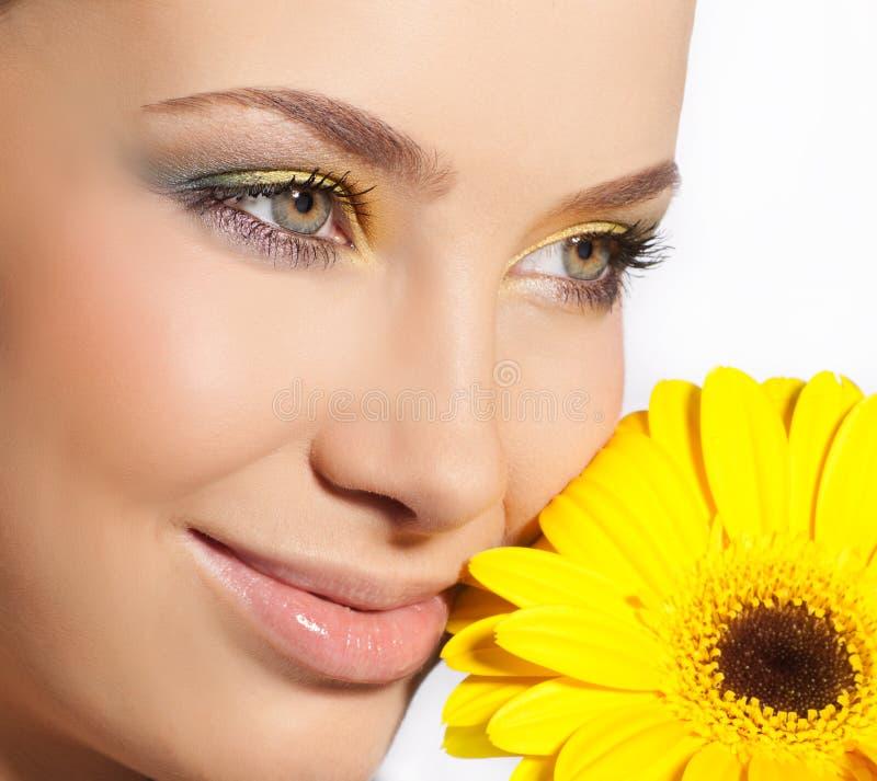 Frauenschönheit stockfoto