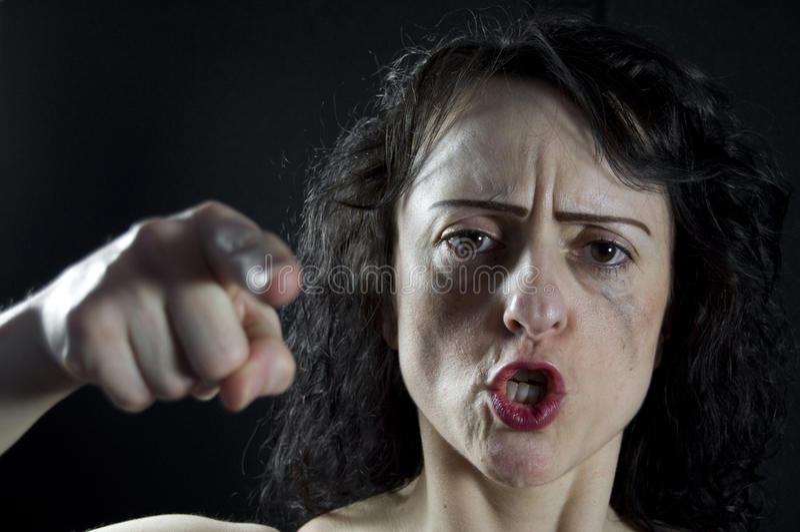Frauenschreien