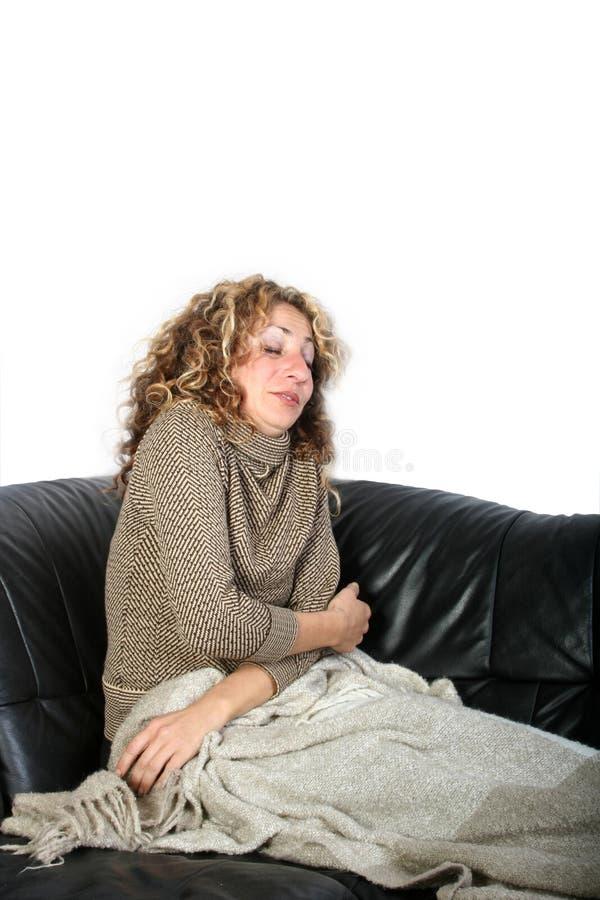 Frauenstillstehen lizenzfreies stockfoto