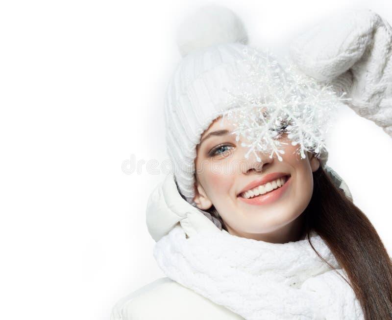 Download Frauenwinter stockfoto. Bild von dezember, kalt, portrait - 106804462