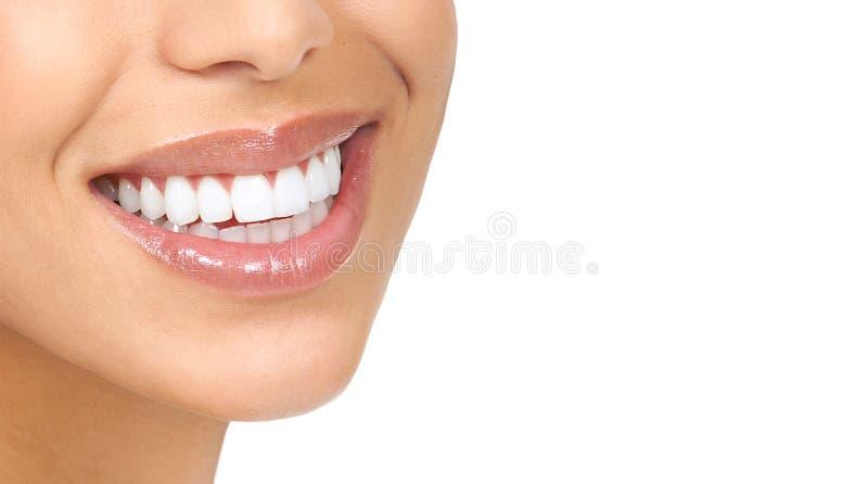 Frauenzähne lizenzfreies stockfoto