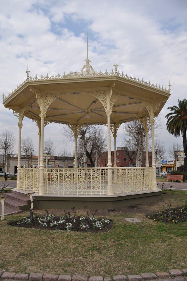 Fray Bentos. Main square of Fray Bentos, Uruguay, Rio Negro royalty free stock images
