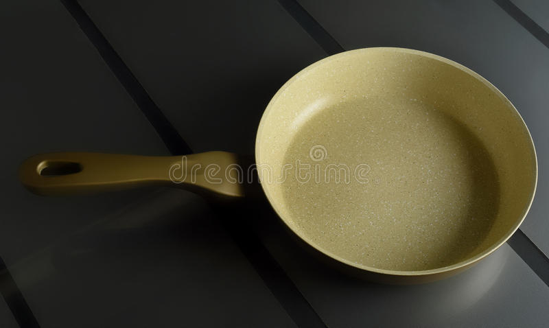 Fraying pan, perfect for your delicious recipes stock photo