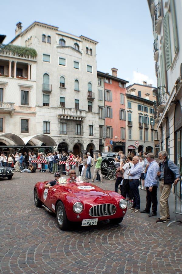 Frazer Nash Fast Tourer em Mille Miglia 2015 foto de stock royalty free