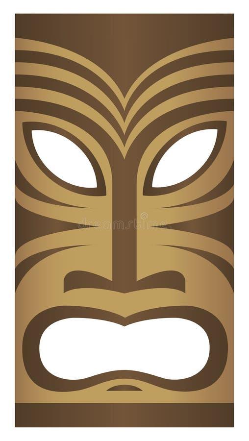 Download Freaky Tiki stock vector. Illustration of drink, tribal - 4064717