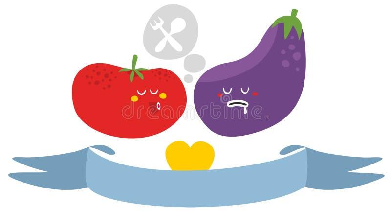 Download Freaky vegetables. stock vector. Image of object, freak - 34954966
