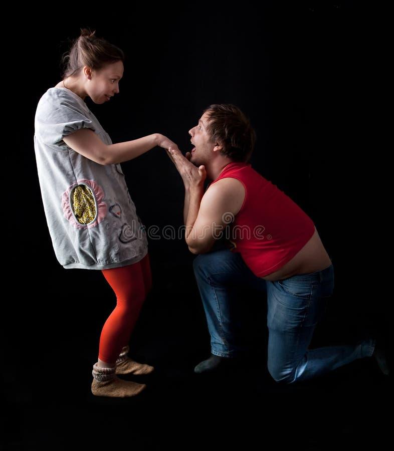 Download Freaky young couple stock photo. Image of freak, awkward - 16070978