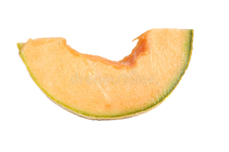 Download Freash Cut Cantalope Melon Isolated Stock Image - Image: 5368725