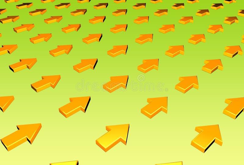 Download Frecce illustrazione di stock. Illustrazione di punto, calcolatore - 219668