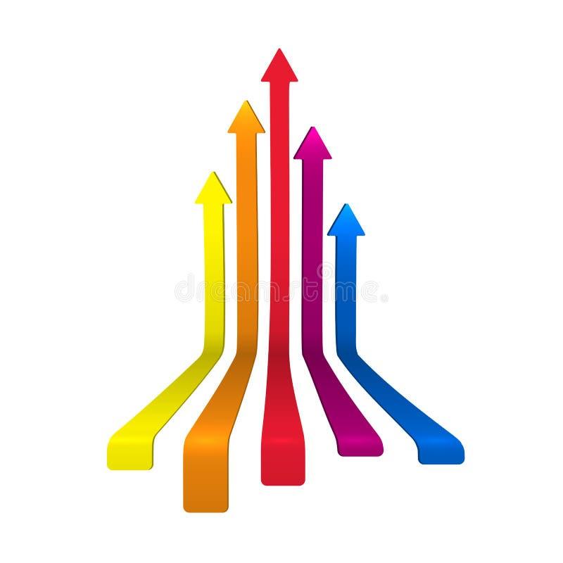 Frecce illustrazione vettoriale