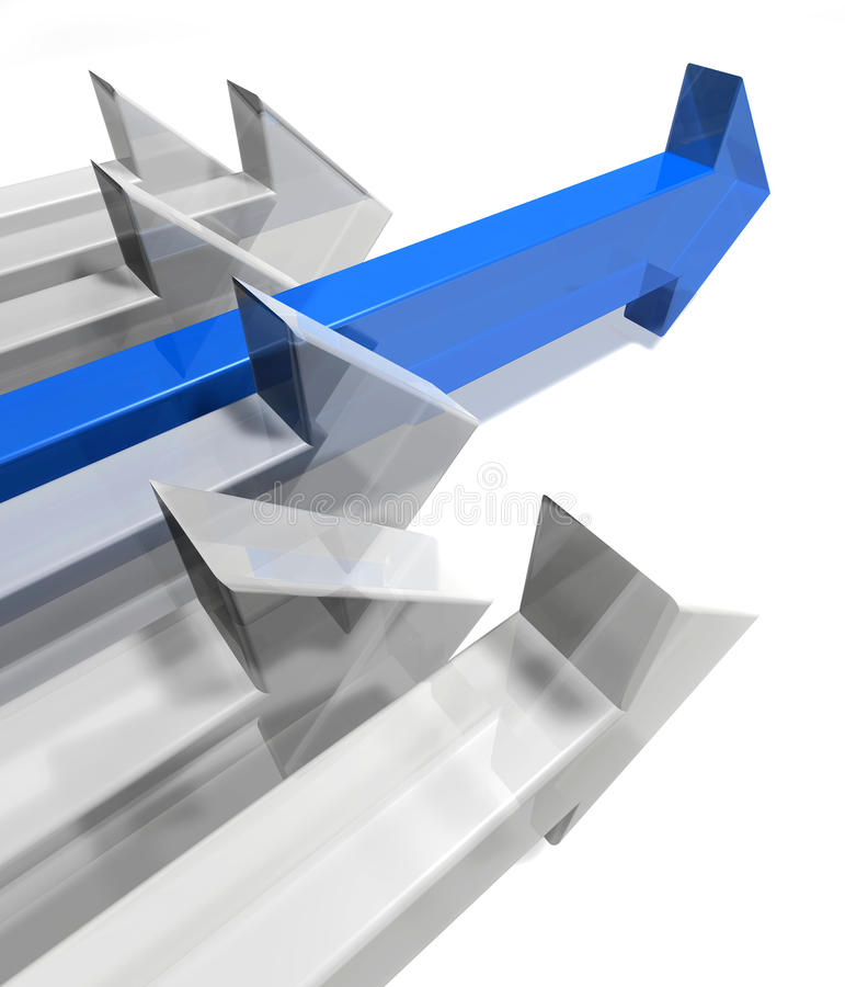 Frecce illustrazione di stock